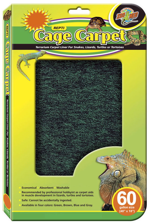 Zoo Med Repti Cage Carpet 60 Gal Breed 48x18