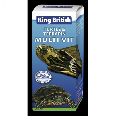 King British Turtle & Terrapin Multi-Vitamin 20ml