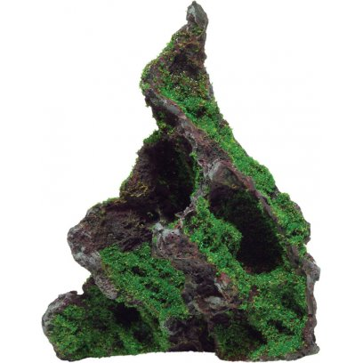 AquaSpectra Rock with Moss 12cm
