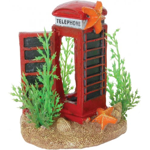 AquaSpectra Telephone Box with Plants