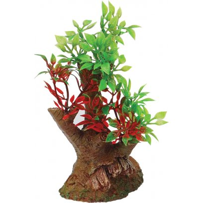 AquaSpectra Tree with Rock Base 6cm