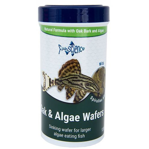 FishScience Oak and Algae Wafers 120g
