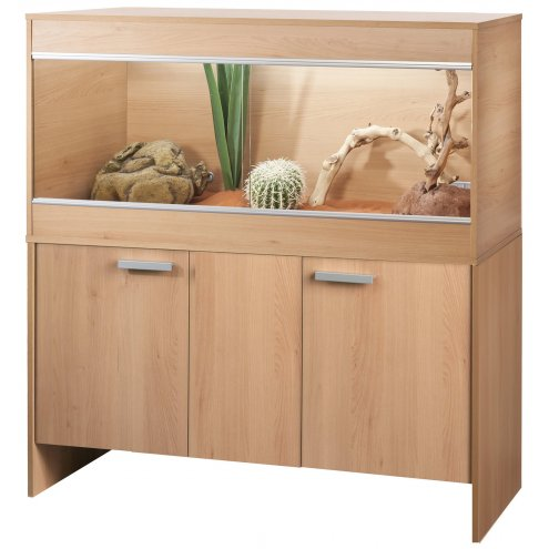 Vivexotic AAL Vivarium & Cabinet - Bearded Dragon Beech