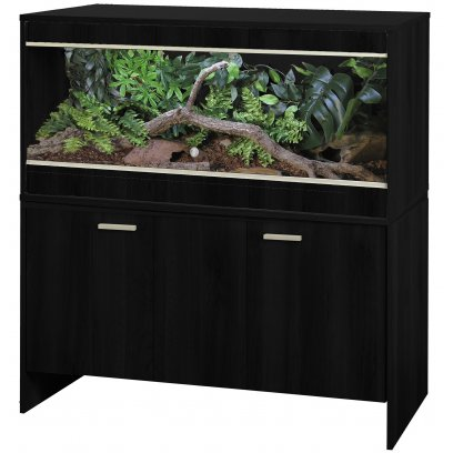 Vivexotic AAL Vivarium & Cabinet - Bearded Dragon Black