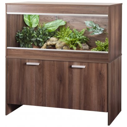 Vivexotic AAL Vivarium & Cabinet - Bearded Dragon Walnut