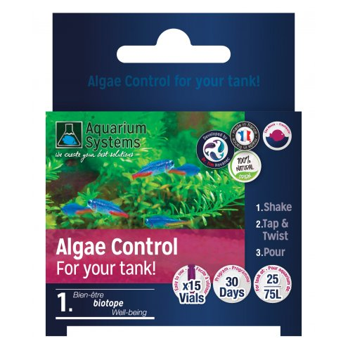 Aquarium Systems Nano Algae Control Program Freshwater