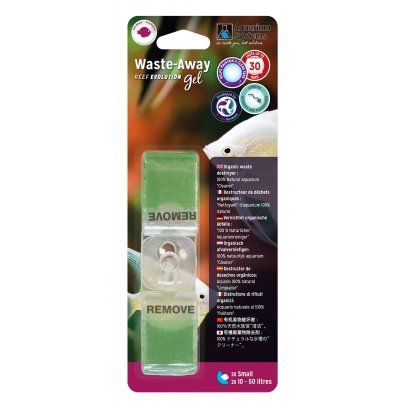Aquarium Systems Waste-Away Gel Freshwater Small 2 Pack