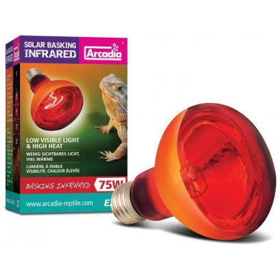 Arcadia Solar Basking Infrared Lamp 75w