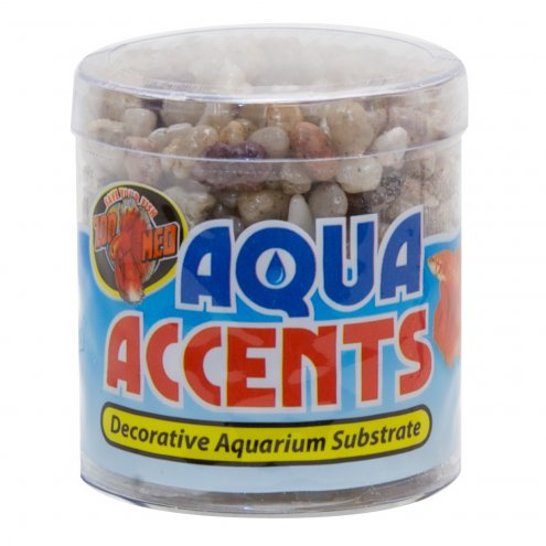 Zoo Med Aqua Accents Light River Pebbles 226g