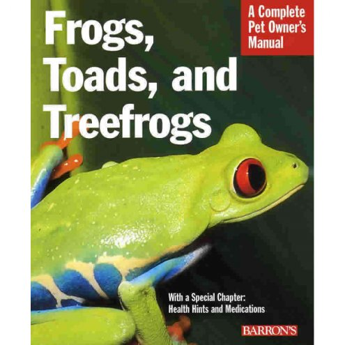 Barrons Frogs Toads & Treefrogs