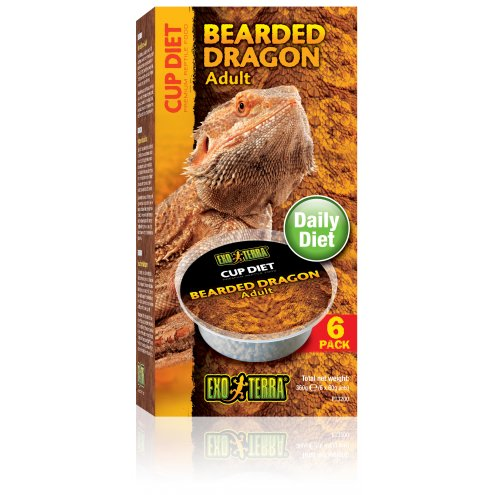 Exo Terra Cup Diets Adult Bearded Dragon 6x60g
