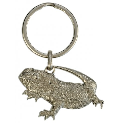 Blue Bug 3D Keyring Bearded Dragon