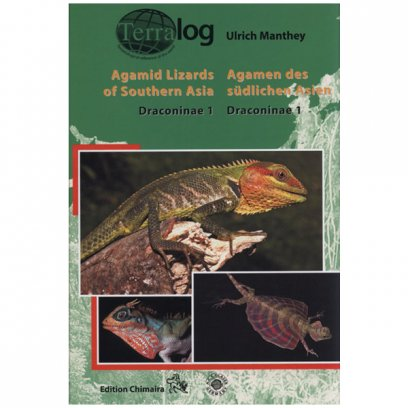 Terralog 7A Agamid Lizards of Southern Asia 1