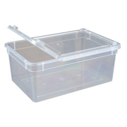 BraPlast Hinged Box 1.3L 185x125x75mm