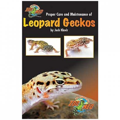 Zoo Med Proper Care and Maintenance of Leopard Geckos