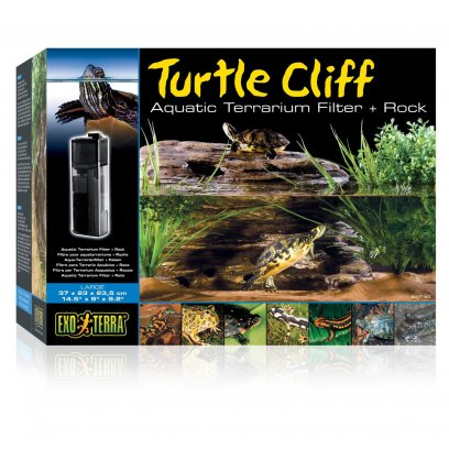 Exo Terra Turtle Cliff Filter Large