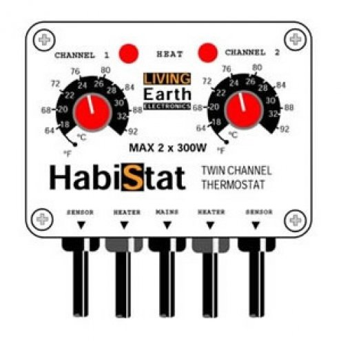 Habistat Twin-channel Thermostat