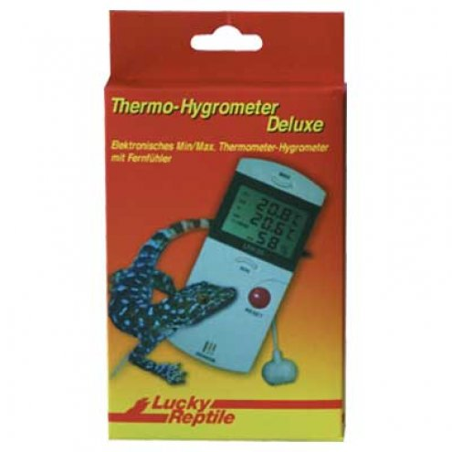Lucky Reptile Thermometer-Hygrometer Deluxe (CLT100)