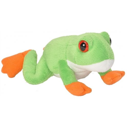 Wild Republic Cuddlekins lils Red-eyed Tree Frog 15cm