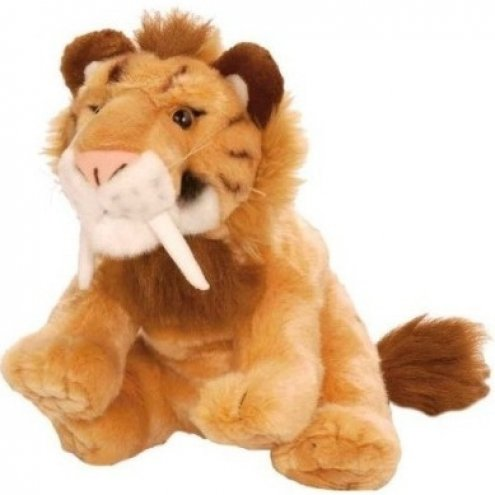 Wild Republic Cuddlekins Smilodon 30cm Soft Toy