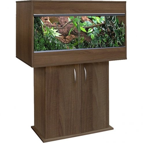 Vivexotic Tobacco Walnut CX36 Cabinet for VX36 Vivarium 697 x 326 x 665mm