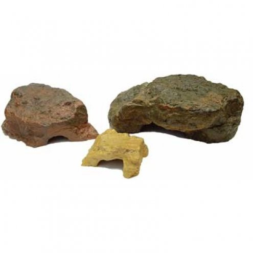 Lucky Reptile Hiding Cave small granite