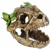 ProRep Resin Dinosaur Skull with plants