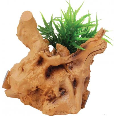 RepStyle Driftwood with Plant 10cm