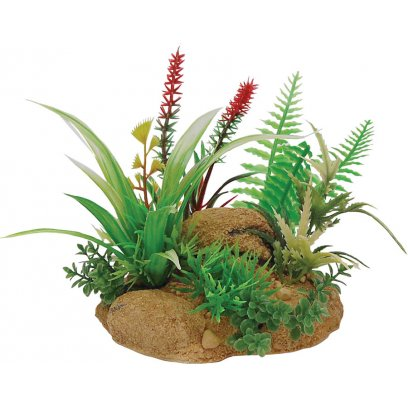 RepStyle Plant with Rock Base B