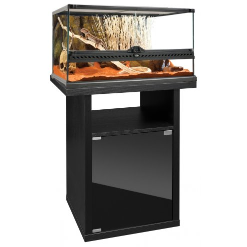 Exo Terra Terrarium Medium Low - 60x45x30cm & Cabinet