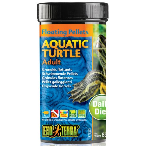 Exo Terra Pellets Adult Aquatic Turtle 85g
