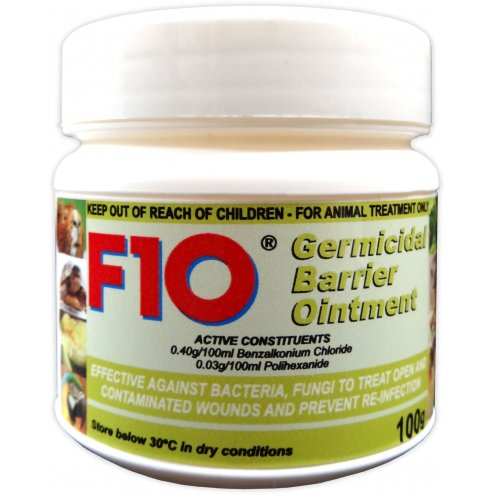 F10 Germicidal Barrier Ointment with Insecticide 100g