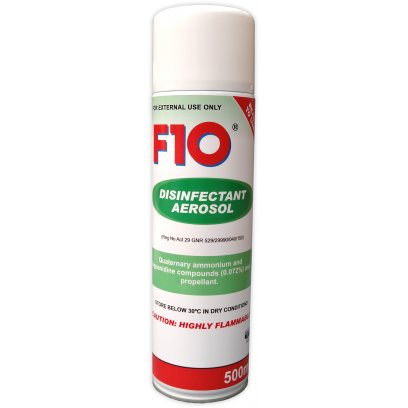 F10 Aerosol Disinfectant 500ml