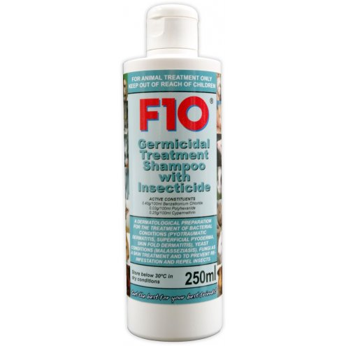 F10 Germicidal Treatment Shampoo with Insecticide 250ml