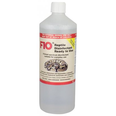 F10 Reptile Ready to Use Disinfectant 1 Litre Refill