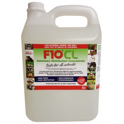 F10 CL Veterinary Disinfectant 5 Litre