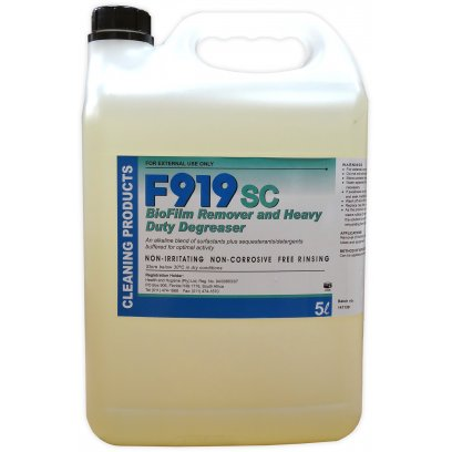 F919SC Degreaser Cleaner 5 Litre