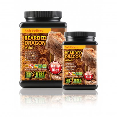 Exo Terra Pellets Adult Bearded Dragon 250g