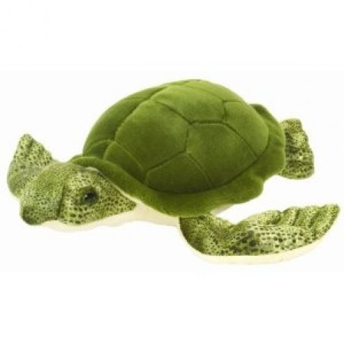 Wild Republic Floppies Green Sea Turtle 76cm Soft Toy