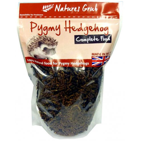 Natures Grub Pygmy Hedgehog Complete 140g Tray