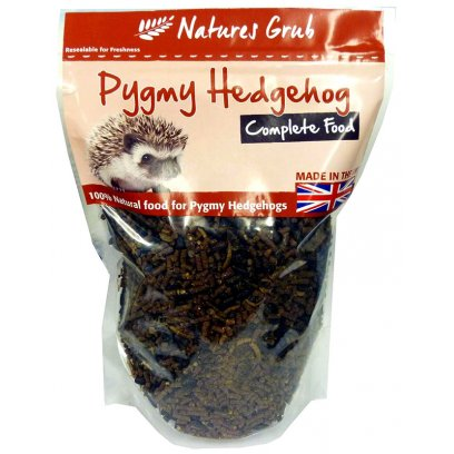 Natures Grub Pygmy Hedgehog Complete 600g