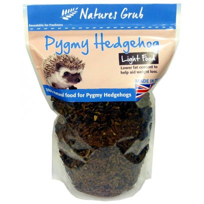 Natures Grub Pygmy Hedgehog Complete Light 600g