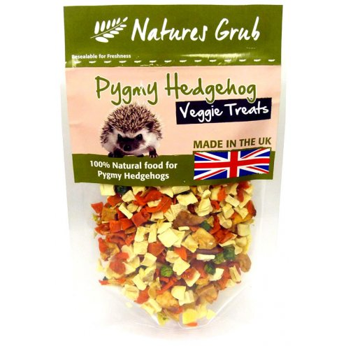 Natures Grub Pygmy Hedgehog Veggie Treat 60g