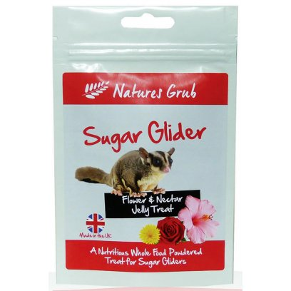 Natures Grub Sugar Glider Jelly - Flower & Nectar 70g