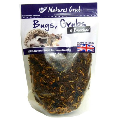 Natures Grub Bugs Grubs & Berries 600g