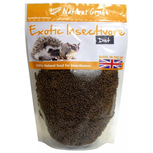 Natures Grub Exotic Insectivore Diet 600g
