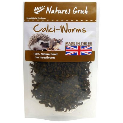 Natures Grub Dried Calci Worms 50g