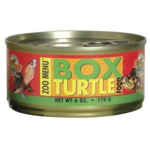 Zoo Med Box Turtle Food CAN 170g