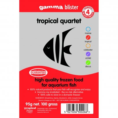 Gamma Blister Tropical Quartet 95g