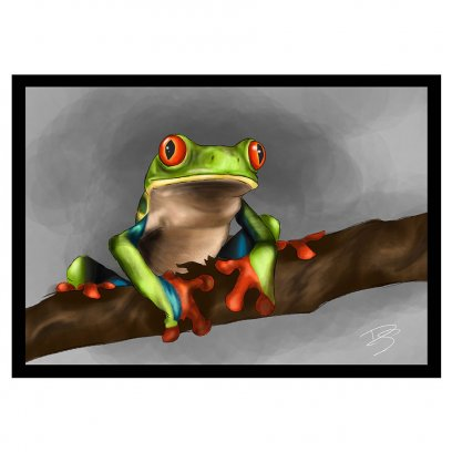 Creative Chameleon Card Tree Frog
